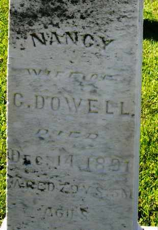 DOWELL, NANCY - Montgomery County, Ohio | NANCY DOWELL - Ohio Gravestone Photos