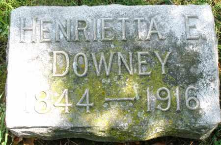 DOWNEY, HENRIETTA E. - Montgomery County, Ohio | HENRIETTA E. DOWNEY - Ohio Gravestone Photos