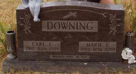 DOWNING, EARL ELMER - Montgomery County, Ohio | EARL ELMER DOWNING - Ohio Gravestone Photos
