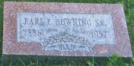 DOWNING, EARL ELLSWORTH - Montgomery County, Ohio | EARL ELLSWORTH DOWNING - Ohio Gravestone Photos