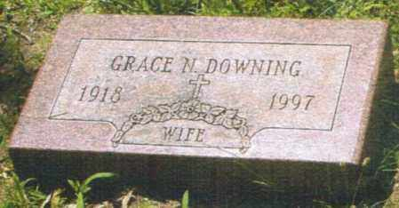 FRANK DOWNING, GRACE N. - Montgomery County, Ohio | GRACE N. FRANK DOWNING - Ohio Gravestone Photos