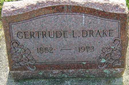 DRAKE, GERTRUDE L - Montgomery County, Ohio | GERTRUDE L DRAKE - Ohio Gravestone Photos