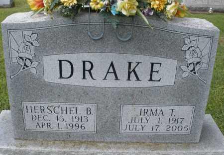 DRAKE, HERSCHEL B. - Montgomery County, Ohio | HERSCHEL B. DRAKE - Ohio Gravestone Photos