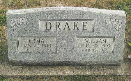 DRAKE, WILLIAM - Montgomery County, Ohio | WILLIAM DRAKE - Ohio Gravestone Photos