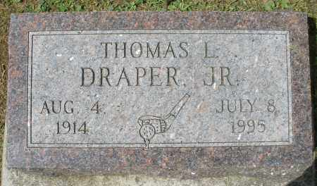 DRAPER, THOMAS L. JR. - Montgomery County, Ohio | THOMAS L. JR. DRAPER - Ohio Gravestone Photos