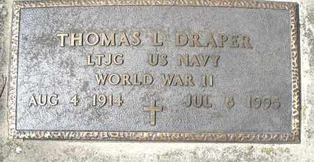 DRAPER, THOMAS L. - Montgomery County, Ohio | THOMAS L. DRAPER - Ohio Gravestone Photos