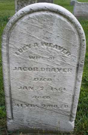 WEAVER DRAXER, LUCY A. - Montgomery County, Ohio | LUCY A. WEAVER DRAXER - Ohio Gravestone Photos