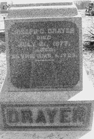 DRAYER, JOSEPH - Montgomery County, Ohio | JOSEPH DRAYER - Ohio Gravestone Photos