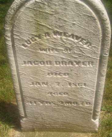 DRAYER, LUCY A. - Montgomery County, Ohio | LUCY A. DRAYER - Ohio Gravestone Photos