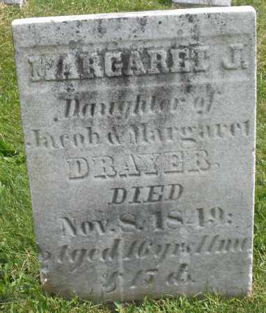 DRAYER, MARGARET J. - Montgomery County, Ohio | MARGARET J. DRAYER - Ohio Gravestone Photos
