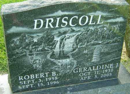 DRISCOLL, GERALDINE J - Montgomery County, Ohio | GERALDINE J DRISCOLL - Ohio Gravestone Photos