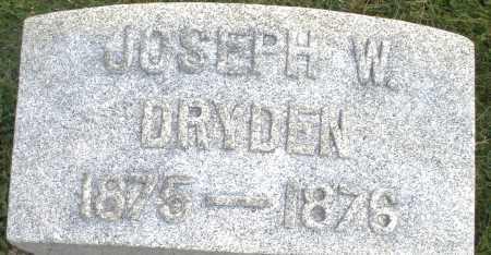 DRYDEN, JOSEPH W. - Montgomery County, Ohio | JOSEPH W. DRYDEN - Ohio Gravestone Photos