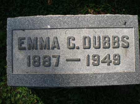 DUBBS, EMMA C. - Montgomery County, Ohio | EMMA C. DUBBS - Ohio Gravestone Photos