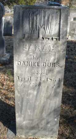 DUBS, SARAH - Montgomery County, Ohio | SARAH DUBS - Ohio Gravestone Photos