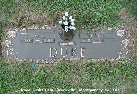 DUKE, RAY - Montgomery County, Ohio | RAY DUKE - Ohio Gravestone Photos