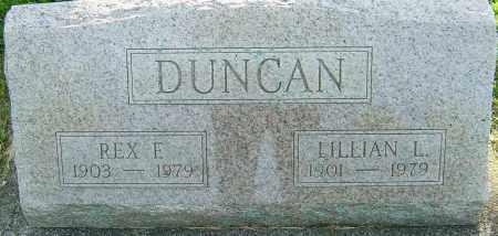 DUNCAN, LILLIAN L - Montgomery County, Ohio | LILLIAN L DUNCAN - Ohio Gravestone Photos