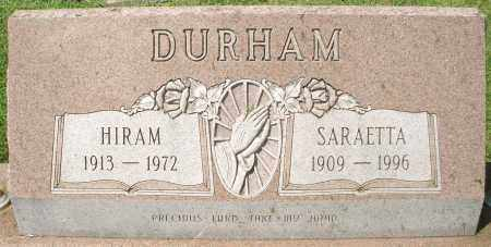 DURHAM, SARETTA - Montgomery County, Ohio | SARETTA DURHAM - Ohio Gravestone Photos