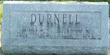 DURNELL, MARY ESTELLA - Montgomery County, Ohio | MARY ESTELLA DURNELL - Ohio Gravestone Photos