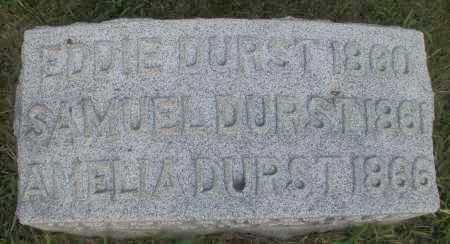 DURST, EDDIE - Montgomery County, Ohio | EDDIE DURST - Ohio Gravestone Photos