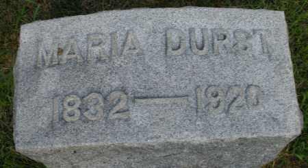 DURST, MARIA - Montgomery County, Ohio | MARIA DURST - Ohio Gravestone Photos
