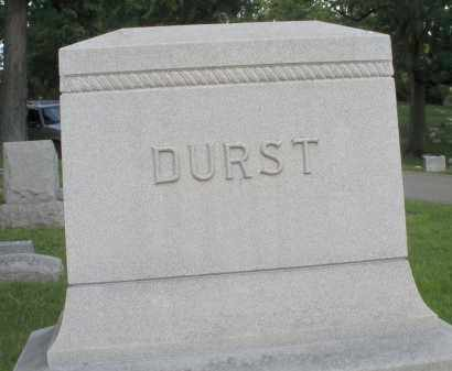 DURST, MONUMENT - Montgomery County, Ohio | MONUMENT DURST - Ohio Gravestone Photos