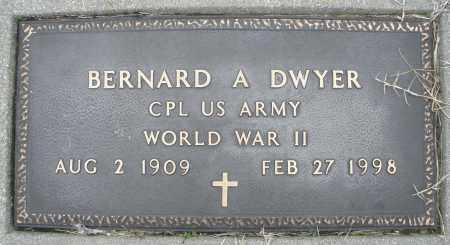 DWYER, BERNARD A. - Montgomery County, Ohio | BERNARD A. DWYER - Ohio Gravestone Photos