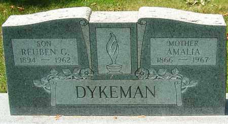 DYKEMAN, REUBEN G - Montgomery County, Ohio | REUBEN G DYKEMAN - Ohio Gravestone Photos