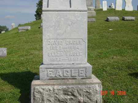 EAGLE, DAVID - Montgomery County, Ohio | DAVID EAGLE - Ohio Gravestone Photos
