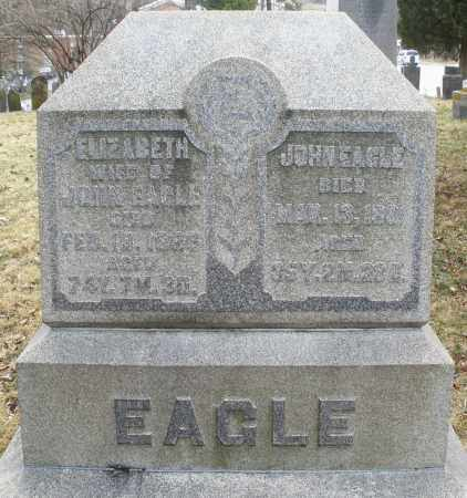 EAGLE, ELIZABETH - Montgomery County, Ohio | ELIZABETH EAGLE - Ohio Gravestone Photos