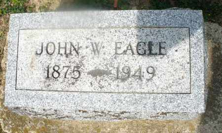 EAGLE, JOHN W. - Montgomery County, Ohio | JOHN W. EAGLE - Ohio Gravestone Photos