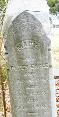 EAGLE, MARY - Montgomery County, Ohio | MARY EAGLE - Ohio Gravestone Photos