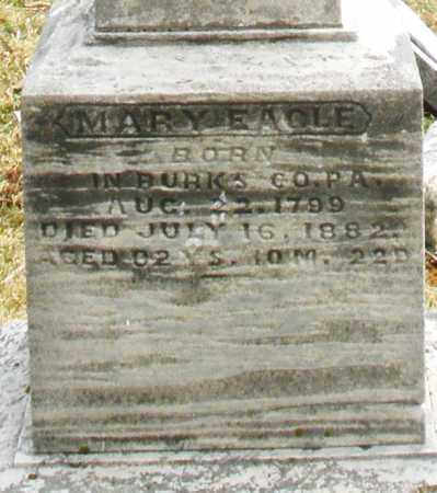 EAGLE, MARY E. - Montgomery County, Ohio | MARY E. EAGLE - Ohio Gravestone Photos
