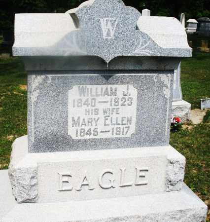 EAGLE, WILLIAM J. - Montgomery County, Ohio | WILLIAM J. EAGLE - Ohio Gravestone Photos