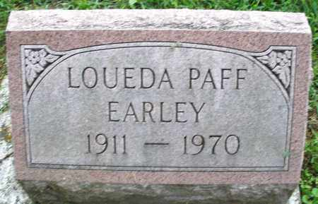EARLEY, LOUEDA - Montgomery County, Ohio | LOUEDA EARLEY - Ohio Gravestone Photos