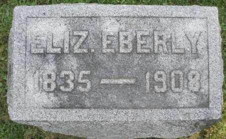 EBERLY, ELIZABETH - Montgomery County, Ohio | ELIZABETH EBERLY - Ohio Gravestone Photos