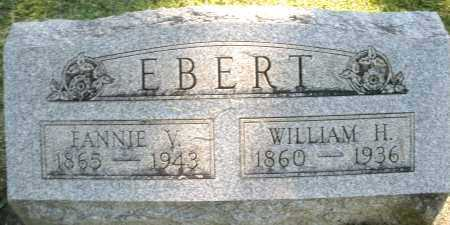 EBERT, WILLIAM H. - Montgomery County, Ohio | WILLIAM H. EBERT - Ohio Gravestone Photos