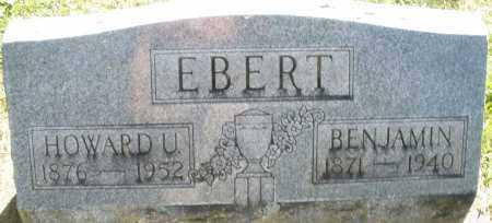 EBERT, HOWARD U. - Montgomery County, Ohio | HOWARD U. EBERT - Ohio Gravestone Photos