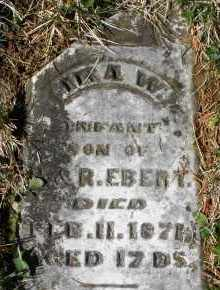 EBERT, IRA W. - Montgomery County, Ohio | IRA W. EBERT - Ohio Gravestone Photos