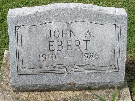 EBERT, JOHN A. - Montgomery County, Ohio | JOHN A. EBERT - Ohio Gravestone Photos