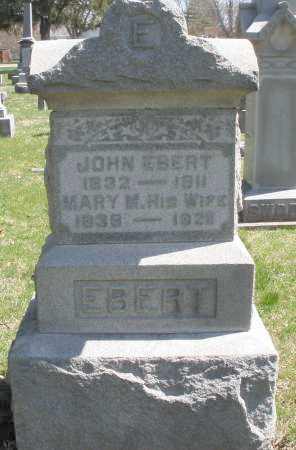 EBERT, MARY M. - Montgomery County, Ohio | MARY M. EBERT - Ohio Gravestone Photos