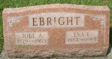EBRIGHT, JOBE A. - Montgomery County, Ohio | JOBE A. EBRIGHT - Ohio Gravestone Photos