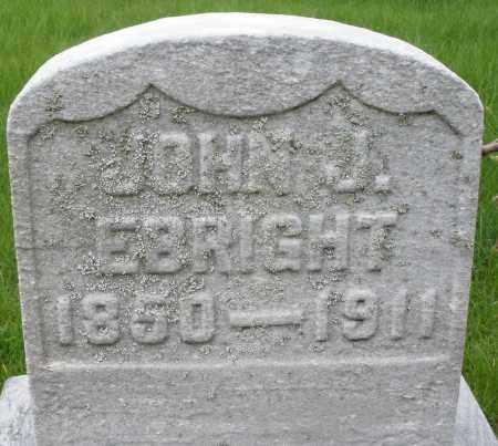 EBRIGHT, JOHN J. - Montgomery County, Ohio | JOHN J. EBRIGHT - Ohio Gravestone Photos