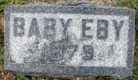 EBY, BABY - Montgomery County, Ohio | BABY EBY - Ohio Gravestone Photos
