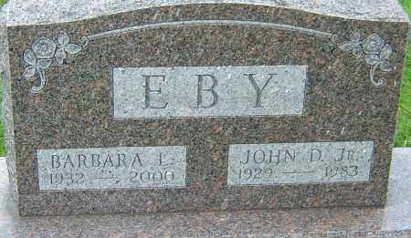 EBY JR, JOHN DAVID - Montgomery County, Ohio | JOHN DAVID EBY JR - Ohio Gravestone Photos