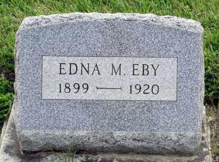 EBY, EDNA M. - Montgomery County, Ohio | EDNA M. EBY - Ohio Gravestone Photos