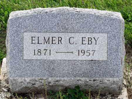 EBY, ELMER C. - Montgomery County, Ohio | ELMER C. EBY - Ohio Gravestone Photos