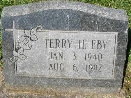 EBY, TERRY H. - Montgomery County, Ohio | TERRY H. EBY - Ohio Gravestone Photos