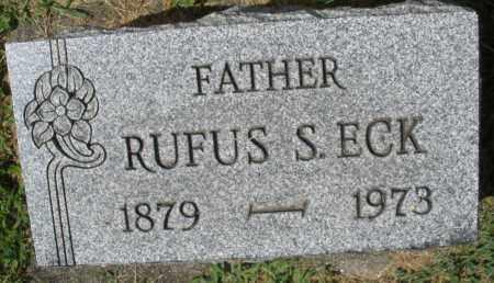 ECK, RUFUS S. - Montgomery County, Ohio | RUFUS S. ECK - Ohio Gravestone Photos