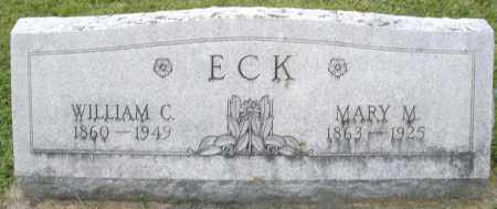 ECK, MARY M. - Montgomery County, Ohio | MARY M. ECK - Ohio Gravestone Photos