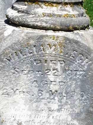 ECK, WILLIAM - Montgomery County, Ohio   WILLIAM ECK - Ohio Gravestone Photos